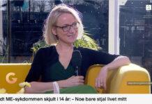 Anne i sending hos God morgen Norge. Skjermdump fra TV2.no